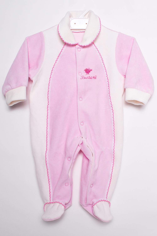 КомбинезонКомбинезончики<br>Хлопковый комбинезон с шапочкой для новорожденного  В изделии использованы цвета: розовый, белый  Размер соответствует росту ребенка<br><br>По сезону: Всесезон<br>Размер : 62<br>Материал: Хлопок<br>Количество в наличии: 2