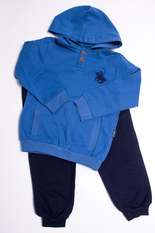 КостюмКостюмы<br>Чудесный детский костюм (джемпер + брюки).  Цвет: синий, темно-синий.  Размер 74 соответствует росту 70-73 см Размер 80 соответствует росту 74-80 см Размер 86 соответствует росту 81-86 см Размер 92 соответствует росту 87-92 см Размер 98 соответствует росту 93-98 см Размер 104 соответствует росту 98-104 см Размер 110 соответствует росту 105-110 см Размер 116 соответствует росту 111-116 см Размер 122 соответствует росту 117-122 см Размер 128 соответствует росту 123-128 см Размер 134 соответствует росту 129-134 см Размер 140 соответствует росту 135-140 см Размер 146 соответствует росту 141-146 см Размер 152 соответствует росту 147-152 см<br><br>По материалу: Хлопковые<br>По образу: Спорт<br>По рисунку: С принтом (печатью),Цветные<br>По стилю: Спортивные<br>По возрасту: Дошкольные ( от 3 до 7 лет),Ясельные ( от 1 до 3 лет)<br>По сезону: Осень,Весна<br>Размер : 116<br>Материал: Хлопок<br>Количество в наличии: 2