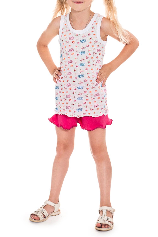 ПижамаПижамы<br>Хлопковая пижама для девочки.   В изделии использованы цвета: белый, розовый и др.  Размер 74 соответствует росту 70-73 см Размер 80 соответствует росту 74-80 см Размер 86 соответствует росту 81-86 см Размер 92 соответствует росту 87-92 см Размер 98 соответствует росту 93-98 см Размер 104 соответствует росту 98-104 см Размер 110 соответствует росту 105-110 см Размер 116 соответствует росту 111-116 см Размер 122 соответствует росту 117-122 см Размер 128 соответствует росту 123-128 см Размер 134 соответствует росту 129-134 см Размер 140 соответствует росту 135-140 см Размер 146 соответствует росту 141-146 см Размер 152 соответствует росту 147-152 см Размер 158 соответствует росту 153-158 см Размер 164 соответствует росту 159-164 см<br><br>По сезону: Всесезон<br>Размер : 110,122,86,98<br>Материал: Трикотаж<br>Количество в наличии: 13
