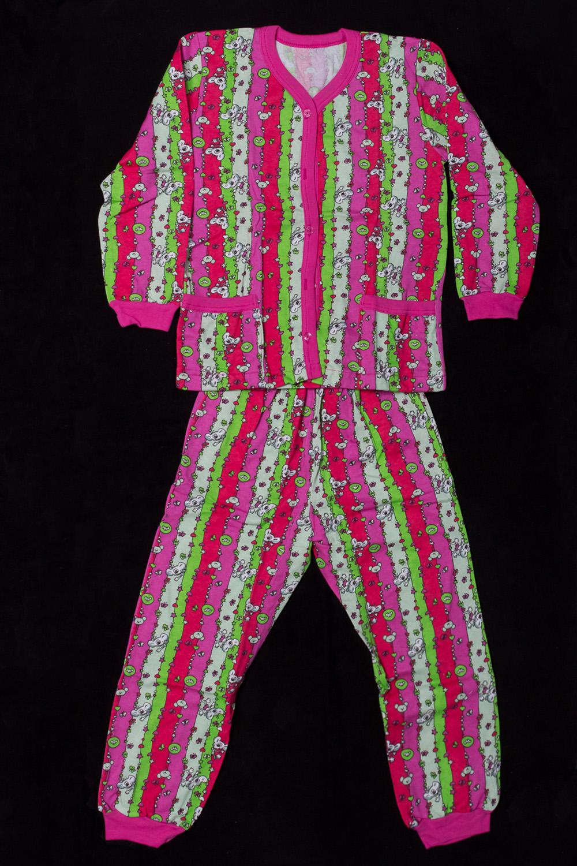ПижамаПижамы<br>Хлопковая пижама для девочки  В изделии использованы цвета: розовый и др.  Размер 74 соответствует росту 70-73 см Размер 80 соответствует росту 74-80 см Размер 86 соответствует росту 81-86 см Размер 92 соответствует росту 87-92 см Размер 98 соответствует росту 93-98 см Размер 104 соответствует росту 98-104 см Размер 110 соответствует росту 105-110 см Размер 116 соответствует росту 111-116 см Размер 122 соответствует росту 117-122 см Размер 128 соответствует росту 123-128 см Размер 134 соответствует росту 129-134 см Размер 140 соответствует росту 135-140 см<br><br>По сезону: Всесезон<br>Размер : 134<br>Материал: Хлопок<br>Количество в наличии: 1