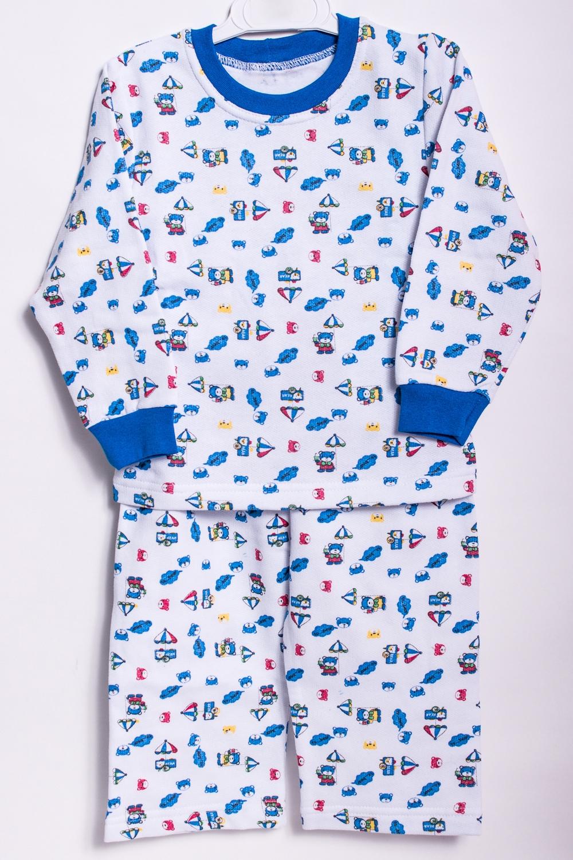 ПижамаПижамы<br>Хлопковая пижама для мальчика  В изделии использованы цвета: белый, синий.  Размер 74 соответствует росту 70-73 см Размер 80 соответствует росту 74-80 см Размер 86 соответствует росту 81-86 см Размер 92 соответствует росту 87-92 см Размер 98 соответствует росту 93-98 см Размер 104 соответствует росту 98-104 см Размер 110 соответствует росту 105-110 см Размер 116 соответствует росту 111-116 см Размер 122 соответствует росту 117-122 см Размер 128 соответствует росту 123-128 см Размер 134 соответствует росту 129-134 см Размер 140 соответствует росту 135-140 см<br><br>По сезону: Всесезон<br>Размер : 134<br>Материал: Хлопок<br>Количество в наличии: 1