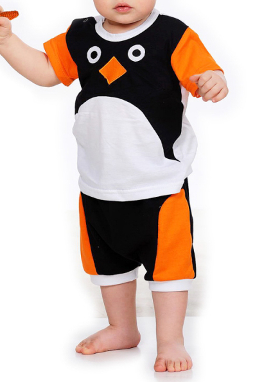 КостюмКомплекты<br>Чудесный хлопковый костюм для новорожденных.  Цвет: черный, белый, оранжевый  Размер соответствует росту ребенка<br><br>Размер : 62,74<br>Материал: Хлопок<br>Количество в наличии: 3