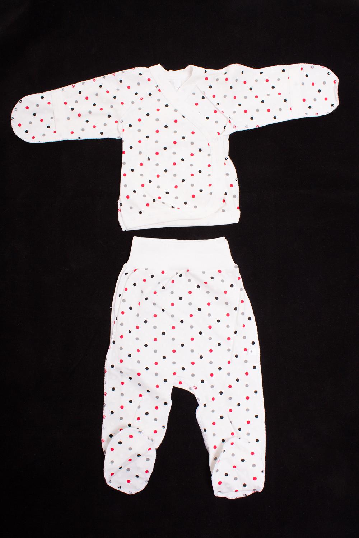 КомплектКомплекты<br>Хлопковый комплект для новорожденного  Цвет: белый, красный, серый  Размер соответствует росту ребенка<br><br>По сезону: Всесезон<br>Размер : 50<br>Материал: Хлопок<br>Количество в наличии: 1
