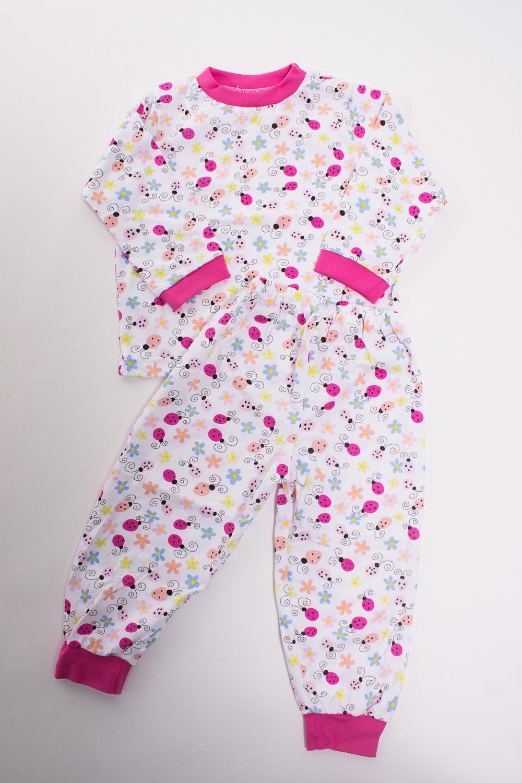 ПижамаПижамы<br>Хлопковая пижама для ребенка  Цвет: белый, розовый  Размер соответствует росту ребенка<br><br>По сезону: Осень,Весна<br>Размер : 104,128,86,98<br>Материал: Трикотаж<br>Количество в наличии: 1