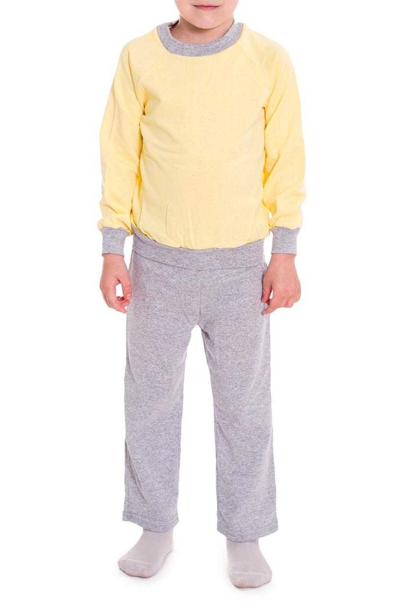 ПижамаПижамы<br>Хлопковая пижама для мальчика  В изделии использованы цвета: серый, желтый  Размер 74 соответствует росту 70-73 см Размер 80 соответствует росту 74-80 см Размер 86 соответствует росту 81-86 см Размер 92 соответствует росту 87-92 см Размер 98 соответствует росту 93-98 см Размер 104 соответствует росту 98-104 см Размер 110 соответствует росту 105-110 см Размер 116 соответствует росту 111-116 см Размер 122 соответствует росту 117-122 см Размер 128 соответствует росту 123-128 см Размер 134 соответствует росту 129-134 см Размер 140 соответствует росту 135-140 см Размер 146 соответствует росту 141-146 см<br><br>По сезону: Всесезон<br>Размер : 104,110,116,122,128<br>Материал: Трикотаж<br>Количество в наличии: 20