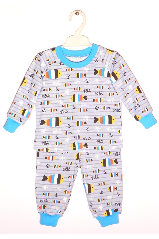 ПижамаПижамы<br>Хлопковая пижама для мальчика  В изделии использованы цвета: серый, голубой и др.  Размер 74 соответствует росту 70-73 см Размер 80 соответствует росту 74-80 см Размер 86 соответствует росту 81-86 см Размер 92 соответствует росту 87-92 см Размер 98 соответствует росту 93-98 см Размер 104 соответствует росту 98-104 см Размер 110 соответствует росту 105-110 см Размер 116 соответствует росту 111-116 см Размер 122 соответствует росту 117-122 см Размер 128 соответствует росту 123-128 см Размер 134 соответствует росту 129-134 см Размер 140 соответствует росту 135-140 см<br><br>По сезону: Всесезон<br>Размер : 74,92<br>Материал: Хлопок<br>Количество в наличии: 2