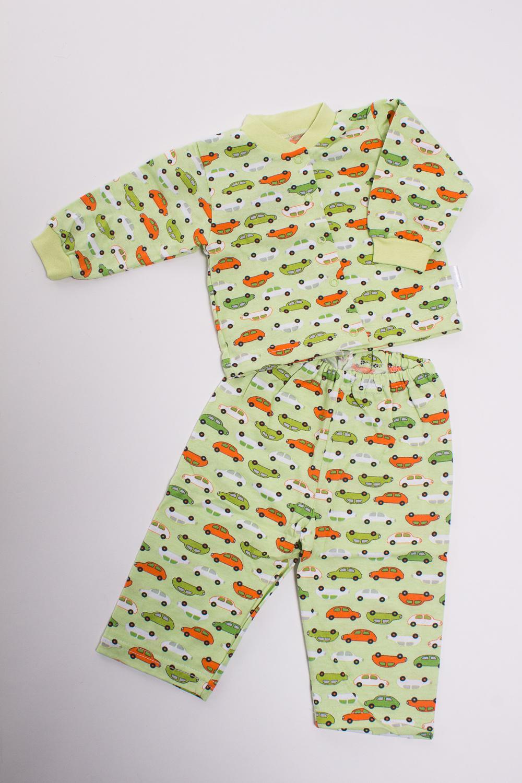 ПижамаПижамы<br>Хлопковая пижама для ребенка  Цвет: зеленый, мультицвет  Размер соответствует росту ребенка<br><br>По сезону: Осень,Весна<br>Размер : 68<br>Материал: Трикотаж<br>Количество в наличии: 1