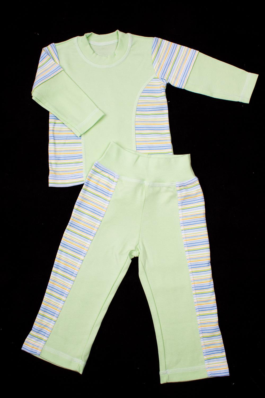 ПижамаКомплекты<br>Хлопковая пижама для новорожденного.  В изделии использованы цвета: зеленый и др.  Размер соответствует росту ребенка<br><br>По сезону: Всесезон<br>Размер : 68,80<br>Материал: Хлопок<br>Количество в наличии: 3