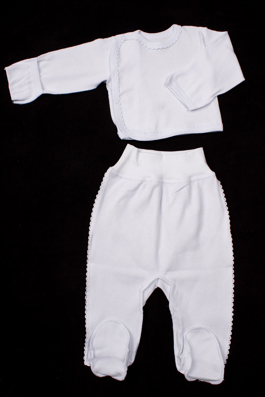 КомплектКомплекты<br>Хлопковый комплект для новорожденного.  В изделии использованы цвета: белый  Размер соответствует росту ребенка<br><br>По сезону: Всесезон<br>Размер : 56,62<br>Материал: Хлопок<br>Количество в наличии: 3