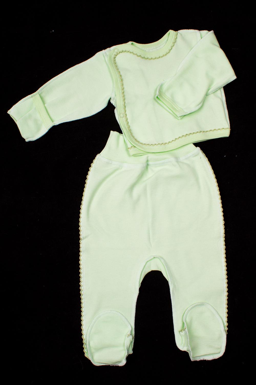 КомплектКомплекты<br>Хлопковый комплект для новорожденного.  В изделии использованы цвета: зеленый  Размер соответствует росту ребенка<br><br>По сезону: Всесезон<br>Размер : 56,62<br>Материал: Хлопок<br>Количество в наличии: 3