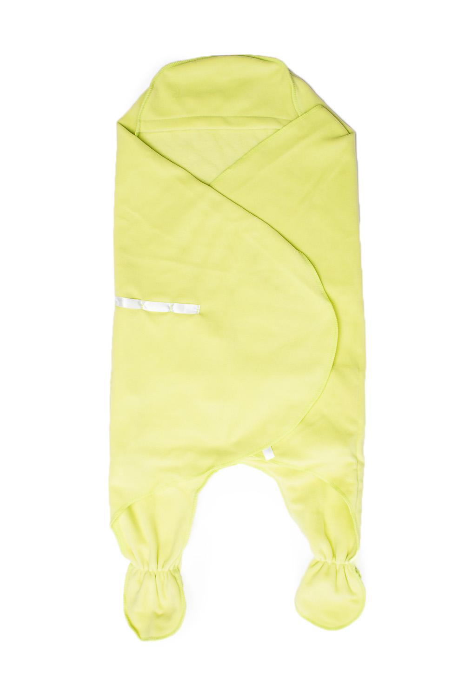 Конверт-одеялоОдеяла и подушки<br>Детское конверт - одеяло.  Размер: 74 см  Цвет: салатовый<br><br>Размер : UNI<br>Материал: Флис<br>Количество в наличии: 1
