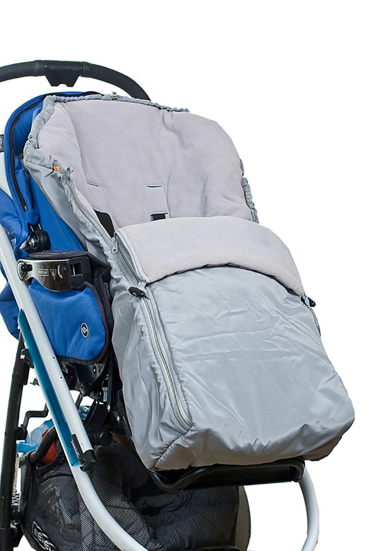 КонвертОдеяла и подушки<br>Флисовый конверт – это надежная защита от любых погодных условий: дождя, снега, ветра, мороза. Малыш всегда чувствует себя предельно комфортно и в то же время свободно. Конверт предназначен не только для новорожденных, он рассчитан на длительное использование. Может использоваться в сочетании с сидячими колясками, а также с санками и автокреслами.  Основные преимущества: - надежная защита от ветра, сырости и мороза до -20 градусов - наличие капюшона с кулиской - две боковые молнии, что облегчает и ускоряет процесс одевания - можно освободить ручки малыша, оставив закрытой грудку - наличие страховочных ремней - прорези под ремни безопастности сидячей коляски или автокресла - длительность использования - простота в уходе  верх с в/о пропиткой подкладка флис (100% Пэ) утеплитель холлофан  Цвет: серый<br><br>По сезону: Всесезон<br>Размер : UNI<br>Материал: Болонья<br>Количество в наличии: 1