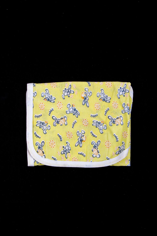 КонвертАксессуары<br>Конверт из мягкого хлопкового полотна. Завернуть малыша можно в три движения, очень помогает мамочке быстро уложить ребенка спать.  В изделии использованы цвета: желтый и др.  Размер соответствует росту ребенка<br><br>Размер : 56,68<br>Материал: Хлопок<br>Количество в наличии: 2