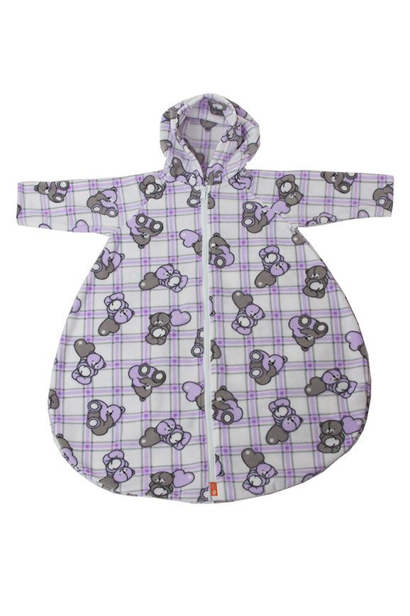 Конверт с рукавамиВерхняя одежда<br>Детский конверт с рукавами.  Размер: 74 см<br><br>Размер : UNI<br>Материал: Флис<br>Количество в наличии: 1