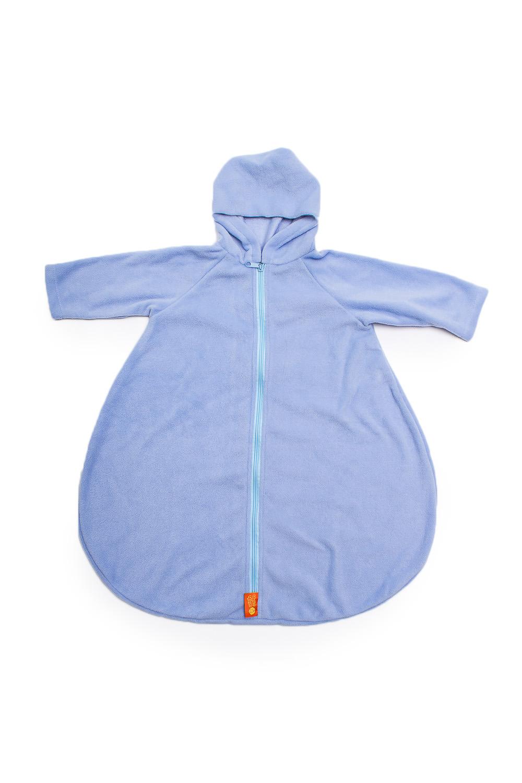 Конверт с рукавамиВерхняя одежда<br>Детский конверт с рукавами.  Размер: 74 см  Цвет: голубой<br><br>Размер : UNI<br>Материал: Флис<br>Количество в наличии: 1