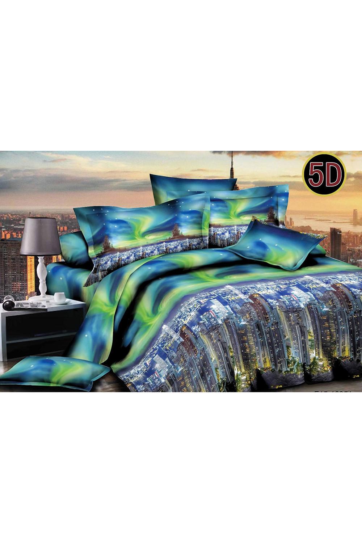 Комплект постельного белья комплект эсмеральда размер евро с простыней 180 см