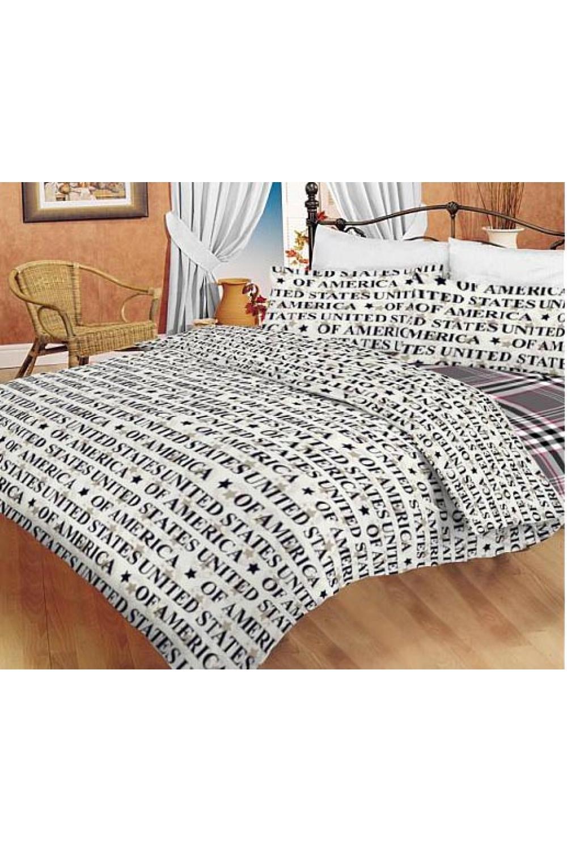 Комплект постельного бельяПостельное белье<br>Постельное белье изготовлено из перкали.  Плотность постельного белья - 160 гр/м2  Цвет: белый, серый, черный, розовый  Перкаль - это плотная хлопчатобумажная ткань, очень износостойкая и крепкая, хорошо хранит тепло, не выпуская его наружу, не пропускает воздух. Поэтому спать в такой постели мягко, тепло и уютно. Перкалевое белье не образует катышков, яркие цвета сохраняются на долго, хорошо впитывает влагу.  Комплект полутораспального гарнитура: Пододеяльник 145х215 - 1шт. Простынь 150х215 - 1шт. Наволочка 50х70 - 2шт.  Комплект двуспального гарнитура: Пододеяльник 175х215 - 1шт. Простынь 200х220 - 1шт. Наволочка 50х70 - 2 шт.  Комплект двуспального гарнитура с Евро простыней: Пододеяльник 175х215 - 1шт. Простынь 220х240 - 1шт. Наволочка 50х70 - 2 шт.  Комплект Евро гарнитура:  Пододеяльник 200х215 - 1шт.  Простынь 220х240 - 1шт.  Наволочка 50х70 - 2 шт.  Комплект Дуэт гарнитура:  Пододеяльник 145х215 - 2 шт. Простынь 220х240 - 1шт.  Наволочка 70х70 - 2 шт.<br><br>По комплектации: Наволочка 2 шт.,Пододеяльник 1 шт.,Простыня 1 шт.,Пододеяльник 2 шт.<br>По материалу: Перкаль,Хлопок<br>По размеру: Полутороспальные,Двуспальные,Дуэт<br>По рисунку: В полоску,Геометрия,С принтом,Цветные,Цветочные<br>По способу закрывания: В нахлест<br>Размер : Duet<br>Материал: Перкаль б/шва 100% хлопок<br>Количество в наличии: 2