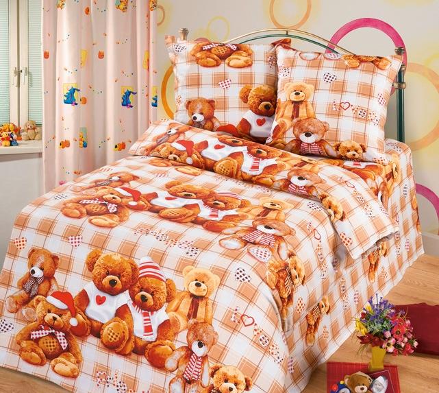 Комплект постельного бельяДля детей<br>Коллекция постельного белья «Для детей» изготовлена из 100% хлопка. Детское постельное белье - это мир сказки и детских любимых героев, переместившихся из мультфильмов на детскую кровать. Именно у нас, Ваш ребенок найдет самый желанный для себя комплект, который идеально впишется в интерьер детской комнаты. Все комплекты обладают повышенной износостойкостью. Даже после многих-многих стирок продолжают радовать своими яркими цветами.   Комплект полутораспального гарнитура: Пододеяльник 147х210 - 1шт. Простынь 150х210 - 1шт. Наволочка 70х70 - 2шт.  Комплект детский: Пододеяльник 110х150 – 1шт. Простынь 110х150 – 1шт. Наволочка 60х60 – 1шт.<br><br>По комплектации: Наволочка 2 шт.,Пододеяльник 1 шт.,Простынь 1 шт.<br>По материалу: Бязь,Хлопок<br>По размеру: Полутороспальные<br>По рисунку: Леопард,Цветные<br>По способу закрывания: В нахлест<br>Размер : 1,5<br>Материал: Бязь набивная б/шва 100% хлопок<br>Количество в наличии: 3