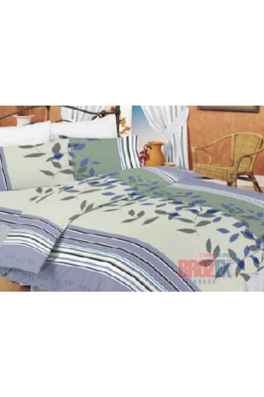 Комплект постельного бельяПостельное белье<br>Постельное белье из ткани нового поколения - поликоттон.  Плотность постельного белья - 120 гр/м2  Цвет: серый, голубой, белый, розовый  Преимущества комплекта из поликоттона - увеличенный срок службы, низкая усадка ткани после стирки, высокие гигиенические свойства, низкая сминаемость изделий, отсутствие миграции красителей.  Комплект 1,5 сп. гарнитура:  Пододеяльник 145х220 – 1шт.  Простынь 150х220 - 1шт.  Наволочка 70х70 - 1шт.   Комплект двуспального гарнитура: Пододеяльник 175*220 - 1шт. Простынь 200х220 - 1шт. Наволочка 70х70 - 1шт.<br><br>По комплектации: Наволочка 2 шт.,Пододеяльник 1 шт.,Простыня 1 шт.<br>По материалу: Поликоттон,Хлопок<br>По размеру: Полутороспальные<br>По рисунку: В полоску,Растительные мотивы,С принтом,Цветные<br>По способу закрывания: В нахлест<br>Размер : 1,5<br>Материал: Поликоттон<br>Количество в наличии: 1
