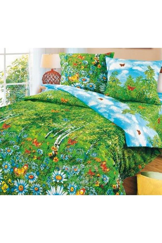 Комплект постельного бельяПостельное белье<br>Бязь - это плотная хлопчатобумажная ткань, гигиеничная, обладающая низкой сменяемостью и легко стирающаяся. Изготавливается из 100% хлопка с использованием устойчивых безопасных красителей для нанесения рисунка на долгие годы, сохраняя яркость цвета.  Цвет: зеленый, голубой, мультицвет.  Обращаем Ваше внимание на то, что расположение рисунка на комплекте не всегда полностью совпадает с рисунком на картинке Данное несоответствие не расценивается как брак или некондиция.  Комплект полутораспального гарнитура: Пододеяльник 150х215 - 1шт. Простынь 150х220 - 1шт. Наволочка 70х70 - 2шт.<br><br>По комплектации: Наволочка 2 шт.,Пододеяльник 1 шт.,Простыня 1 шт.<br>По материалу: Бязь<br>По размеру: Полутороспальные<br>По рисунку: Бабочки,Растительные мотивы,С принтом,Цветные,Цветочные<br>По способу закрывания: В нахлест<br>По сезону: Всесезон<br>Размер : 1,5<br>Материал: Бязь набивная б/шва 100% хлопок<br>Количество в наличии: 1