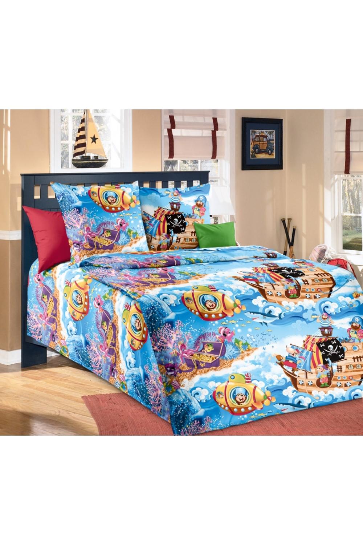 Комплект постельного бельяДля детей<br>Коллекция постельного белья Для детей изготовлена из 100% хлопка. Детское постельное белье - это мир сказки и детских любимых героев, переместившихся из мультфильмов на детскую кровать. Именно у нас, Ваш ребенок найдет самый желанный для себя комплект, который идеально впишется в интерьер детской комнаты. Все комплекты обладают повышенной износостойкостью. Даже после многих-многих стирок продолжают радовать своими яркими цветами.   В изделии используются цвета: сиреневый, фиолетовый, голубой и др.  Обращаем Ваше внимание на то, что расположение рисунка на комплекте не всегда полностью совпадает с рисунком на картинке Данное несоответствие не расценивается как брак.  Комплект полутораспального гарнитура: Пододеяльник 150х215 см 1 штука Простынь 150х220 см 1 штука Наволочка 70х70 см 2 штуки  Комплект гарнитура Ясли: Пододеяльник: 150*110 см 1 штука Простыня: 150*100 см 1 штука Наволочка: 40*60 см 1 штука<br><br>По комплектации: Наволочка 2 шт.,Пододеяльник 1 шт.,Простынь 1 шт.,Наволочка 1 шт.<br>По материалу: Перкаль,Хлопок<br>По размеру: Для детей,Полутороспальные,Ясли<br>По рисунку: С принтом,Цветные<br>По способу закрывания: В нахлест<br>Размер : 1,5,Yasli<br>Материал: Перкаль б/шва 100% хлопок<br>Количество в наличии: 5