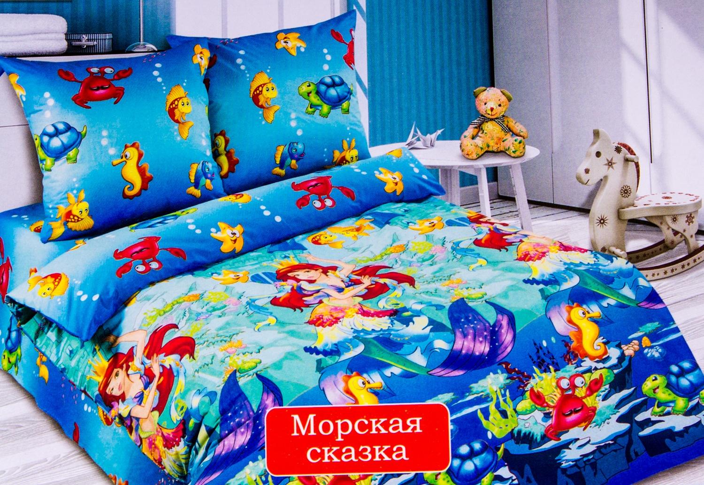 Комплект постельного бельяДля детей<br>Коллекция постельного белья «Для детей» изготовлена из 100% хлопка. Детское постельное белье - это мир сказки и детских любимых героев, переместившихся из мультфильмов на детскую кровать. Именно у нас, Ваш ребенок найдет самый желанный для себя комплект, который идеально впишется в интерьер детской комнаты. Все комплекты обладают повышенной износостойкостью. Даже после многих-многих стирок продолжают радовать своими яркими цветами.   Комплект детский: Пододеяльник 215х150 – 1шт. Простынь 215х150 – 1шт. Наволочка 70х70 – 2шт.  Кпб-упаковка: пакет Пп-80 Мкм 2 гофровставки Информационный вкладыш<br><br>По материалу: Поплин,Хлопок<br>По размеру: Полутороспальные,Для детей<br>По рисунку: Мультипликация,3D,Ультрафиолет,Цветные<br>По способу закрывания: В нахлест<br>По комплектации: Наволочка 2 шт.,Пододеяльник 1 шт.,Простынь 1 шт.<br>Размер : 1,5<br>Материал: Поплин б/шва 100% хлопок<br>Количество в наличии: 1