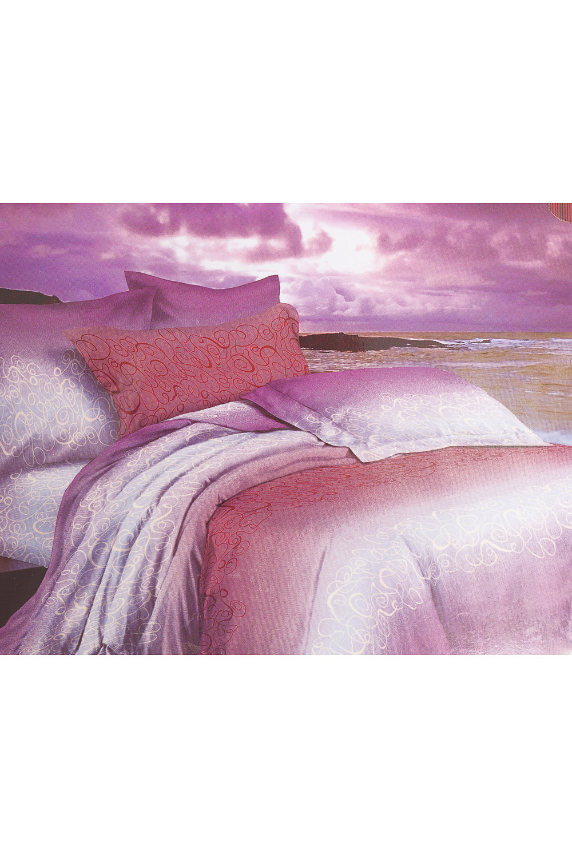 Комплект постельного бельяПостельное белье<br>Постельное белье из сатина. Если Вы мечтаете о гладкости шелка и экологичности хлопка, то постельное белье из сатина специально для Вас.  Вы узнаете его по плотной и нежной ткани. Бельё из сатина долговечно и выдерживает до 200-300 стирок.   Цвет: розовый, белый, сиреневый, коралловый   Обращаем Ваше внимание на то, что расположение рисунка на комплекте не всегда полностью совпадает с рисунком на картинке Данное несоответствие не расценивается как брак или некондиция.  Комплект полутораспального гарнитура: Пододеяльник 148х215 - 1шт.  Простынь 215*152 - 1шт.  Наволочка 70х70 - 2шт.   Комплект двуспального гарнитура: Пододеяльник 180*215 - 1шт. Простынь 214*220 - 1шт. Наволочка 70х70 - 2шт.  Комплект Евро гарнитура:  Пододеяльник 215х220 - 1шт.  Простынь 220*240 - 1шт.  Наволочка 70х70 - 2шт.  Комплект Дуэт гарнитура:  Пододеяльник 215*148 - 2шт.  Простынь 220х240 - 1шт.  Наволочка 70х70 - 2шт.<br><br>По комплектации: Наволочка 2 шт.,Пододеяльник 1 шт.,Простыня 1 шт.<br>По материалу: Сатин,Хлопок<br>По размеру: Полутороспальные,Двуспальные,Евро<br>По рисунку: С принтом,Цветные<br>По способу закрывания: В нахлест<br>Размер : 1,5,2,0,Euro<br>Материал: Сатин набивной б/шва 100% хлопок<br>Количество в наличии: 8