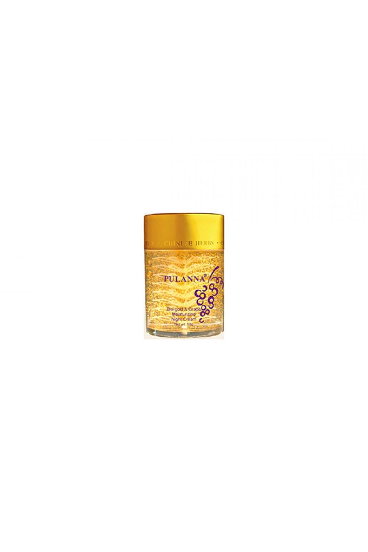 Увлажняющий ночной кремКремы для лица<br>Увлажняющий Ночной Крем 58Мг  Рекомендовано С 28 Лет И Старше   1) Обеспечивает  длительное, глубокое увлажнение кожи; 2) Обладает лёгким осветляющим эффектом, улучшает цвет лица; 3) Оказывает вяжущее, тонизирующее, бактерицидное действие; 4) Нормализует секрецию сальных желез, мягко  сужает поры; 5) Ускоряет регенерацию клеток кожи, разглаживает морщины; 6) Оказывает успокаивающее воздействие, снимает раздражения, шелушения эпидермиса; 7) Тонизирует и укрепляет стенки капилляров, является профилактикой купероза; 8) Оказывает антистрессовое воздействие на кожу.  Основные Действующие Компоненты:  Экстракты гамамелиса, винограда, ангелики китайской, витамин Е, диоксид титана, гиалуроновая кислота, био-золото..  Применение: Вечером на предварительно очищенную кожу лица и шеи нанести необходимое количество крема. Лёгкими, похлопывающими движениями по массажным линиям распределить по коже, избегая области вокруг глаз. Оставить до полного впитывания. Остатки крема удалить салфеткой.<br><br>Тип аромата: Легкий<br>Тип кожи: Жирная кожа,Зрелая кожа,Комбинированная кожа,Нормальная кожа,Проблемная кожа,Сухая кожа,Чувствительная кожа<br>Тип проблемы: Высыпания и прыщи,Глубокие поры,Отеки и круги под глазами,Покраснения<br>Эффект: Восстановление,Омоложение,Отбеливание,Увлажнение<br>Размер : UNI<br>Количество в наличии: 1