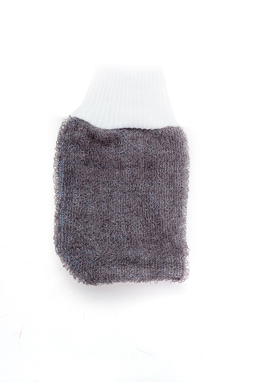 Эко-мочалка из льна мочалка рукавица для лица riffi цвет голубой