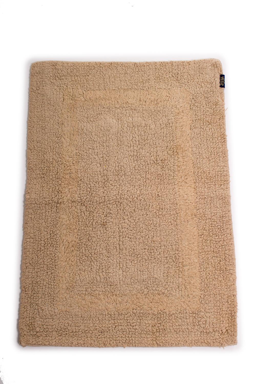 КоврикКоврики<br>Коврик для ног в ванную комнату. Размер: 43*60 см.  Цвет: коричневый.<br><br>Размер : 43*60<br>Материал: Хлопок<br>Количество в наличии: 2