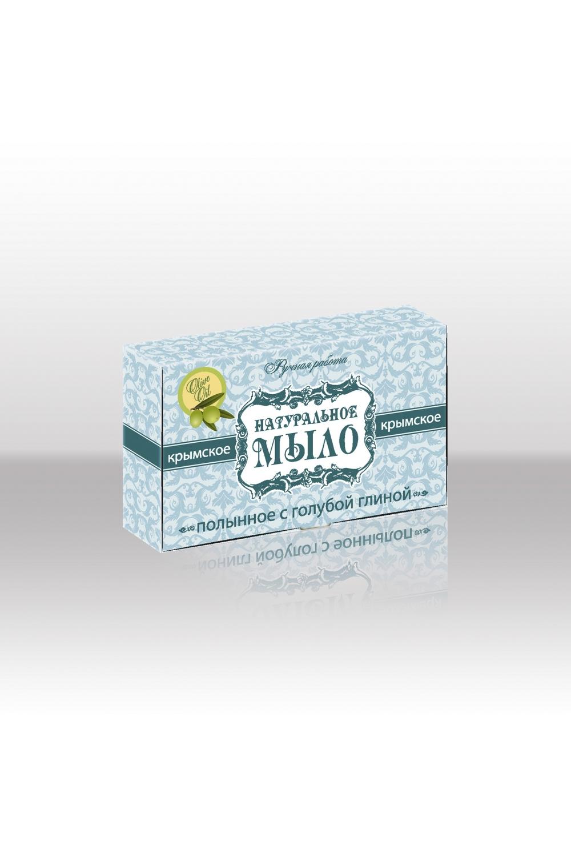 """Натуральное мыло """"Полынное с голубой глиной"""" LacyWear ML(1)-KML"""