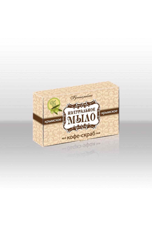 Натуральное мыло Кофе-скрабТвердое мыло<br>Мыло натуральное Кофе-скраб с молотыми зернами кофе сорта «Арабика» бодрит и тело, и дух, одновременно очищая и омолаживая кожу. Кофеин, содержащийся в нем, усиливает антицеллюлитный эффект, придает коже дополнительную упругость и здоровый вид, а антиоксиданты продлевают ее молодость.  Крымское мыло натуральное представляет уникальную линию мыла ручной работы. Его нежная пена бережно очищает и питает кожу, оставляя легкий аромат черноморского бриза, солнечных лучей и целебного горного воздуха.   Крымское мыло натуральное изготовленно в самом сердце Крымского полуострова, с использованием 100% чистых растительных масел и исключительно органических натуральных компонентов - превосходных даров крымской природы. Все ингредиенты для каждого вида мыла тщательно подобраны. Каждый компонент обладает особенными свойствами, а их сочетание создает неповторимый эффект,присущий только нашему мылу. Крымское мыло натуральное сохраняет все полезные свойства экстрактов, масел и минералов. Мыло не вызывает аллергию, нежно очищает кожу, насыщая ее необходимыми элементами.   Состав: омыленные масла (кокосовое, оливковое, пальмовое, касторовое); вода подготовленная, масло Ши, отвар молотого кофе, кофе молотый.  Масса 50г (+/-5г) Срок годности 24 мес. Дата изготовления  14.10.2015г.  Противопоказания: индивидуальная непереносимость входящих в состав компонентов.  Меры предосторожности: при попадании в глаза промыть водой.  Условия хранения: хранить при температуре не ниже -5 С и относительной влажности воздуха не выше 75%. Оберегать от солнечных лучей.<br><br>Тип аромата: Древесный<br>Тип кожи: Жирная кожа,Зрелая кожа,Комбинированная кожа,Нормальная кожа,Проблемная кожа,Сухая кожа,Чувствительная кожа<br>Тип проблемы: Высыпания и прыщи,Морщины,Шелушение<br>Эффект: Омоложение,Очищение<br>Размер : UNI<br>Количество в наличии: 8