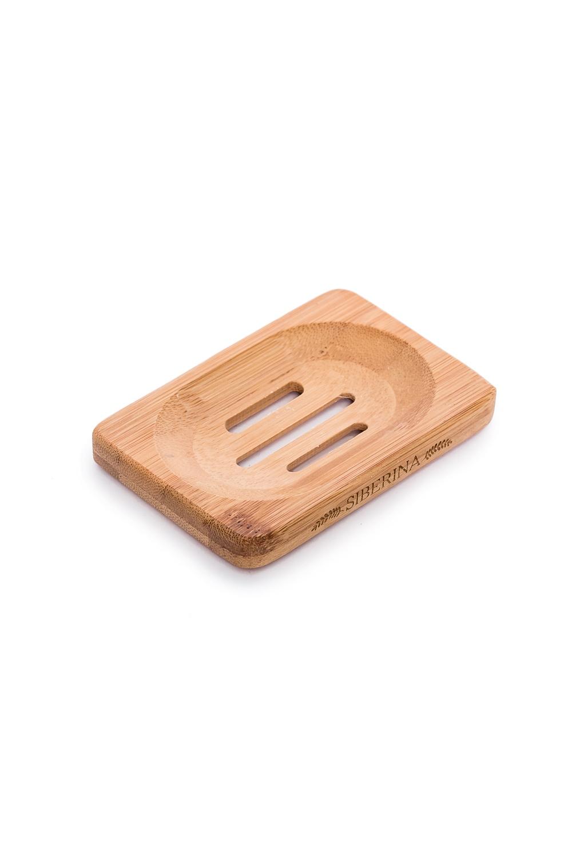 Деревянная мыльницаМыльницы<br>Деревянная Мыльница SIBERINA  Деревянная эко-мыльница из натурального дерева идеально подходит для удобного хранения Вашего любимого натурального мыла Siberina. В ней не скапливается вода, что позволяет мылу надолго сохранить свой красивый внешний вид. Мыло в ней быстро высыхает и не раскисает. А также мыльница имеет удобный размер - на неё поместится любой кусочек мыла  Мыльница сделана вручную из 100% натурального дерева.  Размер: 11,6*8*1,3 см.<br><br>Размер : UNI<br>Материал: Дерево<br>Количество в наличии: 12