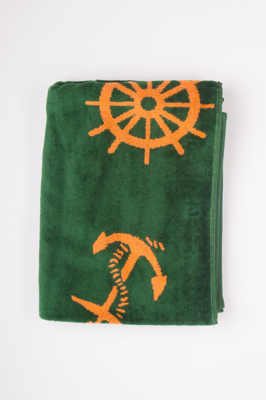 Махровое полотенцеПолотенца<br>Мягкое махровое полотенце  Цвет: зеленый, оранжевый<br><br>По материалу: Махровые,Хлопковые<br>По рисунку: Однотонные<br>По сезону: Всесезон<br>Размер: 70*140<br>Материал: 100% хлопок<br>Количество в наличии: 1