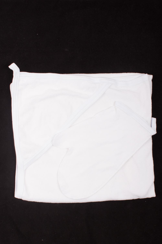 ПолотенцеДля ванной<br>Махровый уголок для купания с рукавицей. Размер  100*100 см  Цвет: белый.<br><br>По сезону: Всесезон<br>Размер : 100*100<br>Материал: Махровое полотно<br>Количество в наличии: 2