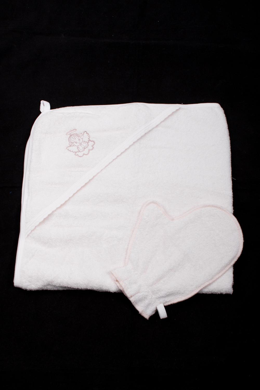 Уголок для купанияДля ванной<br>Махровый уголок для купания новорожденного.  В изделии использованы цвета: молочный<br><br>По сезону: Всесезон<br>Размер : 80*80<br>Материал: Махровое полотно<br>Количество в наличии: 1