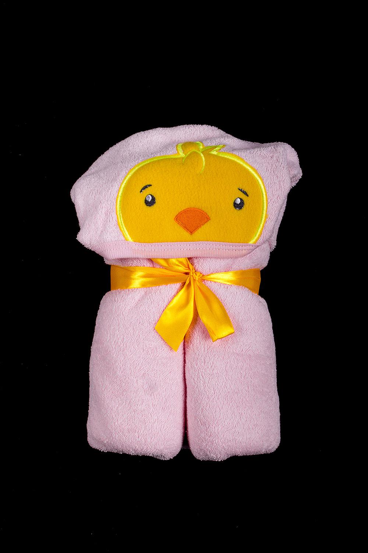 Плед-конвертАксессуары<br>Конверт из мягкого махрового полотна. Завернуть малыша можно в три движения, очень помогает мамочке быстро вытереть и уложить ребенка спать.  В изделии использованы цвета: розовый  Размер соответствует росту ребенка<br><br>Размер : 90*90<br>Материал: Махровое полотно<br>Количество в наличии: 1