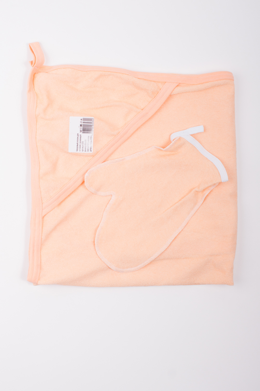 ПолотенцеДля ванной<br>Махровый уголок для купания с рукавицей. Размер  100*100 см  Цвет: оранжевый.<br><br>По сезону: Всесезон<br>Размер: 100*100<br>Материал: 100% хлопок<br>Количество в наличии: 2