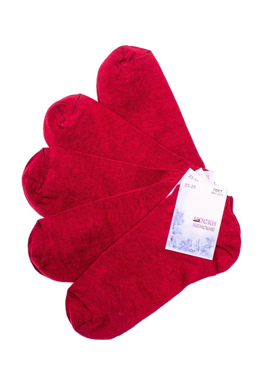 НоскиНоски<br>Однотонные носки из мягкого трикотажа. Носки отличаются хорошим качеством, прочностью, надежностью и удобством в пользовании. Оптимальный состав обеспечит комфорт и здоровье Ваших ног.  В наборе 5 пар.  В изделии использованы цвета: красный  Цена на сайте указана за 1 упаковку.<br><br>По длине: Мини<br>По материалу: Трикотаж,Хлопок<br>По рисунку: Однотонные<br>По сезону: Весна,Зима,Лето,Осень,Всесезон<br>По стилю: Повседневный стиль<br>Размер : 23-25<br>Материал: Трикотаж<br>Количество в наличии: 2