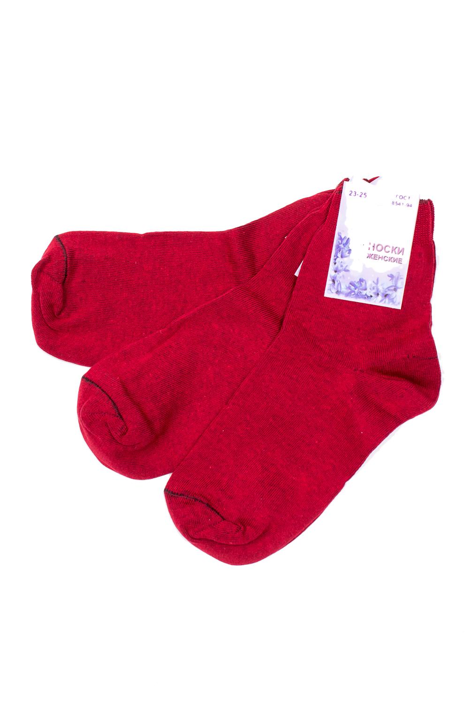 НоскиНоски<br>Однотонные носки из мягкого трикотажа. Носки отличаются хорошим качеством, прочностью, надежностью и удобством в пользовании. Оптимальный состав обеспечит комфорт и здоровье Ваших ног.  В наборе 3 пары.  В изделии использованы цвета: красный  Цена на сайте указана за 1 упаковку.<br><br>По длине: Мини<br>По материалу: Трикотаж,Хлопок<br>По рисунку: Однотонные<br>По сезону: Весна,Зима,Лето,Осень,Всесезон<br>По стилю: Повседневный стиль<br>Размер : 23-25<br>Материал: Трикотаж<br>Количество в наличии: 2