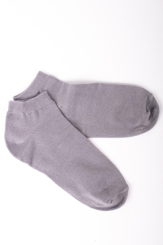 НоскиНоски<br>Хлопковые женские носки  Цвет: серый<br><br>По образу: Спорт,Город,Жизнь<br>По стилю: Повседневные<br>По материалу: Трикотажные,Хлопковые<br>По рисунку: Однотонные<br>По сезону: Весна,Осень<br>По элементам: На резинке<br>По длине: Миди<br>Размер: 23<br>Материал: 90% хлопок 8% полиэстер 2% Эластан<br>Количество в наличии: 7
