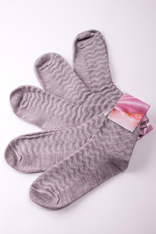 НоскиНоски<br>Теплые женские носки Упаковка из 5 пар.  В изделии использованы цвета: бежевый  Цена на сайте указана за 1 упаковку.<br><br>По рисунку: Однотонные<br>По сезону: Зима,Осень,Весна<br>По стилю: Повседневный стиль<br>По материалу: Вязаные<br>Размер : 25<br>Материал: Вязаное полотно<br>Количество в наличии: 1