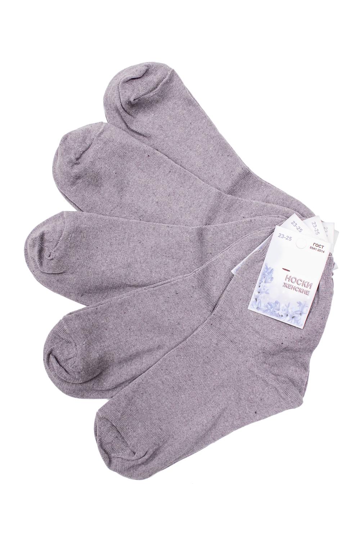 НоскиНоски<br>Однотонные носки из мягкого трикотажа. Носки отличаются хорошим качеством, прочностью, надежностью и удобством в пользовании. Оптимальный состав обеспечит комфорт и здоровье Ваших ног.  В наборе 5 пар.  В изделии использованы цвета: серо-сиреневый  Цена на сайте указана за 1 упаковку.<br><br>По длине: Мини<br>По материалу: Трикотаж,Хлопок<br>По рисунку: Однотонные<br>По сезону: Весна,Зима,Лето,Осень,Всесезон<br>По стилю: Повседневный стиль<br>Размер : 23-25<br>Материал: Трикотаж<br>Количество в наличии: 2