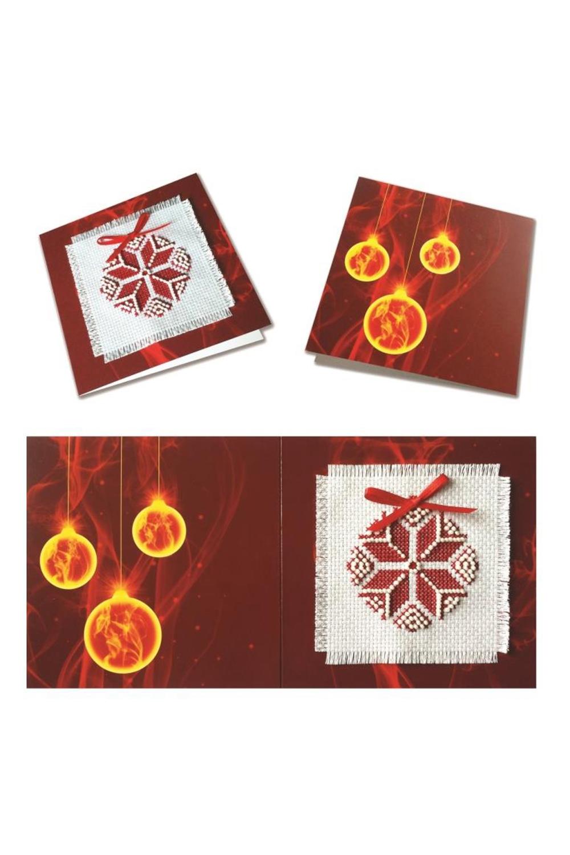 Набор для изготовления открыткиТворчество<br>Набор для изготовления открытки Рождественская звезда - красная  В набор входит: заготовка для открытки, канва Аида 14 с люрексом, бисер (Чехия), нитки мулине, лента, 2 иглы, схема, инструкция.  Размер: 12 х 12 см  Набор упакован в пластиковый пакет с еврослотом<br><br>Размер : UNI<br>Материал: Текстиль<br>Количество в наличии: 3