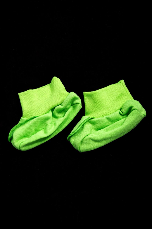 ПинеткиПинетки и носочки<br>Яркие пинетки для новорожденного  Цвет: салатовый<br><br>По сезону: Всесезон<br>Размер : universal<br>Материал: Хлопок<br>Количество в наличии: 1