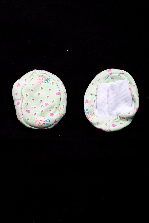 ПинеткиПинетки и носочки<br>Хлопковые пинетки для новорожденного  Размер: 9*7 см.  В изделии использованы цвета: зеленый и др.<br><br>По сезону: Всесезон<br>Размер : UNI<br>Материал: Трикотаж<br>Количество в наличии: 2