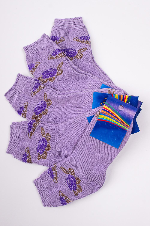 НоскиЧулочно-носочные изделия<br>Махровые носочки для ребенка. Упаковка из 5 пар.  В изделии использованы цвета: лиловый и др.  Цена на сайте указана за 1 упаковку.<br><br>По материалу: Махровые<br>По образу: Жизнь<br>По рисунку: С принтом (печатью),Цветные,Цветочные<br>По сезону: Зима,Осень,Весна<br>По стилю: Повседневные,Теплые<br>По элементам: На резинке<br>Размер : 20-22<br>Материал: Махровое полотно<br>Количество в наличии: 1