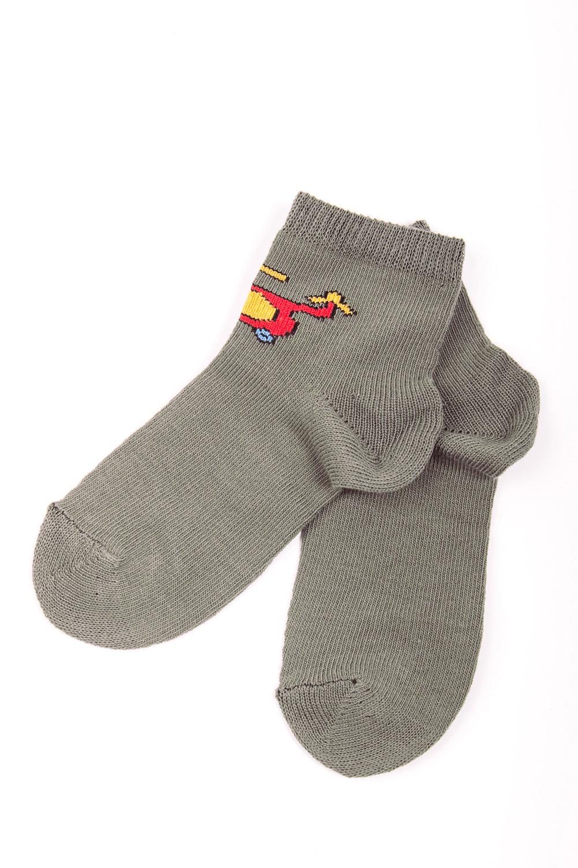 НоскиЧулочно-носочные изделия<br>Хлопковые носочки для мальчика  Цвет: песочный, мультицвет<br><br>По образу: Жизнь<br>По стилю: Повседневные<br>По материалу: Трикотажные,Хлопковые<br>По рисунку: С принтом (печатью),Однотонные<br>По сезону: Осень,Весна<br>По элементам: На резинке<br>По длине: Миди<br>Размер: 16<br>Материал: 85% хлопок 12% полиэстер 3% эластан<br>Количество в наличии: 2