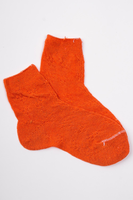 НоскиЧулочно-носочные изделия<br>Однотонные хлопковые носочки  Цвет: оранжевый<br><br>По длине: Миди<br>По материалу: Хлопковые<br>По образу: Жизнь<br>По рисунку: Однотонные<br>По сезону: Весна,Зима,Лето,Осень,Всесезон<br>По стилю: Летние,Повседневные<br>Размер : 14<br>Материал: Хлопок<br>Количество в наличии: 1