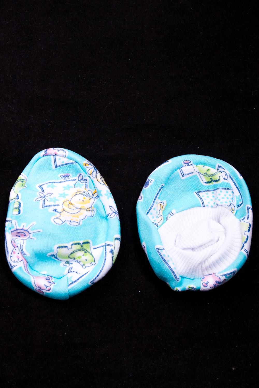 ПинеткиПинетки и носочки<br>Хлопковые пинетки для новорожденного  Размер: 9*7 см.  В изделии использованы цвета: голубой и др.<br><br>По сезону: Всесезон<br>Размер : UNI<br>Материал: Трикотаж<br>Количество в наличии: 1